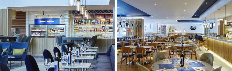 Dining at the London Heathrow Marriott