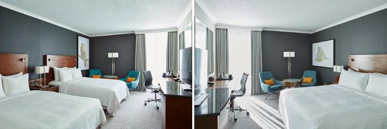 Rooms at the London Heathrow Marriott