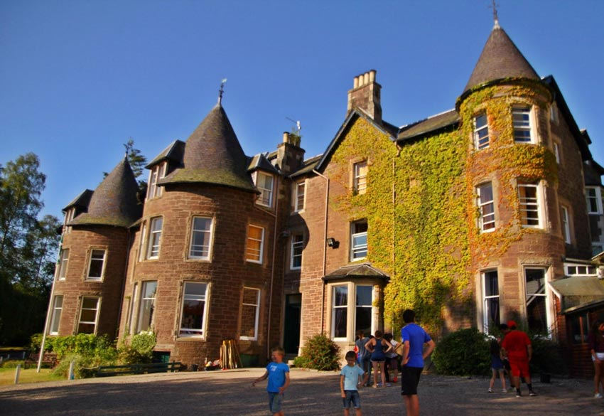 cooper summer camp scotland main building