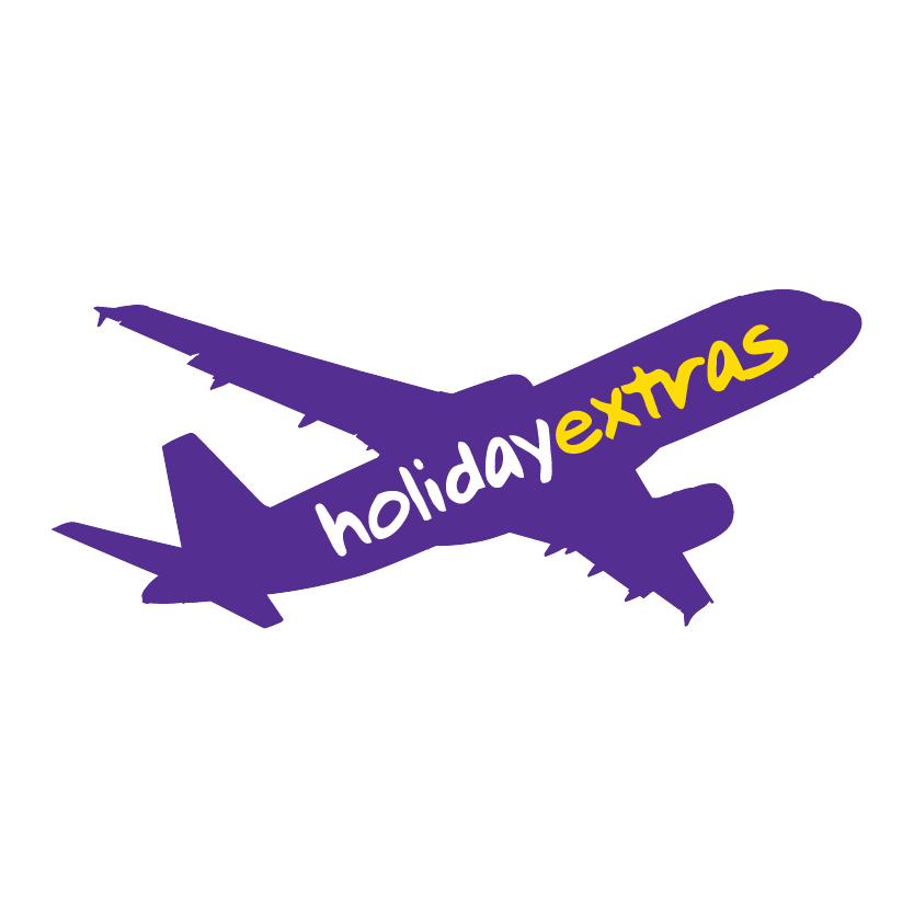 Holiday Extras Airplane Logo