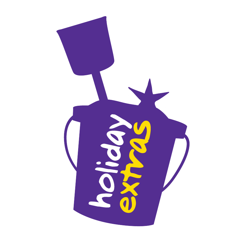Holiday Extras Bucket and Spade Logo