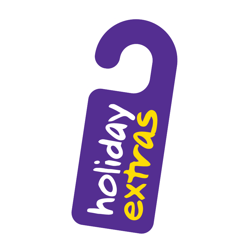 Holiday Extras Door Tag Logo