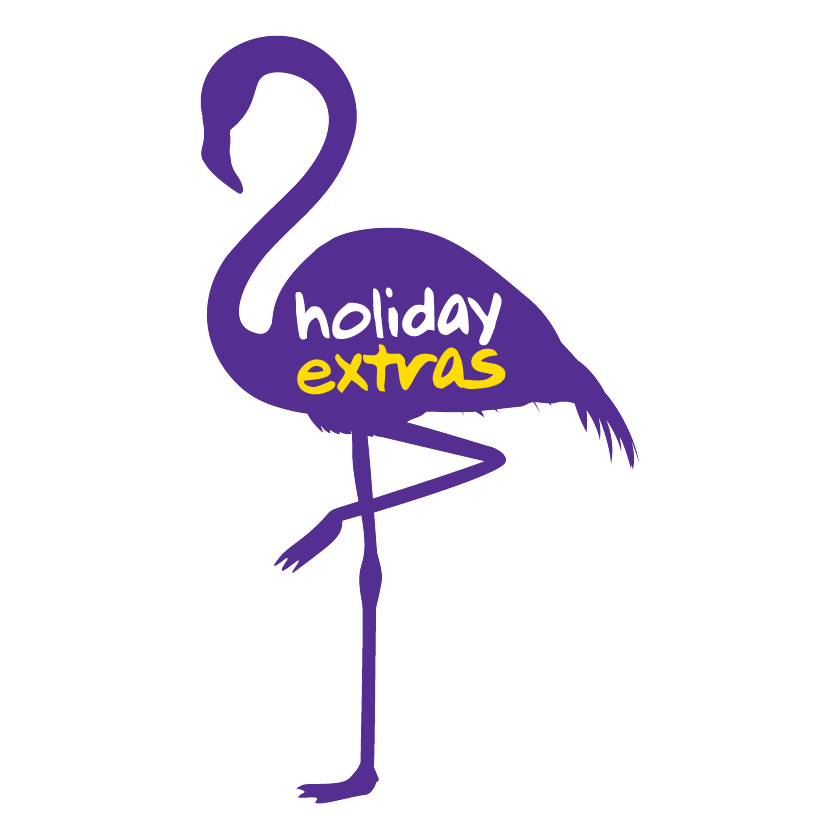Holiday Extras Flamingo Logo