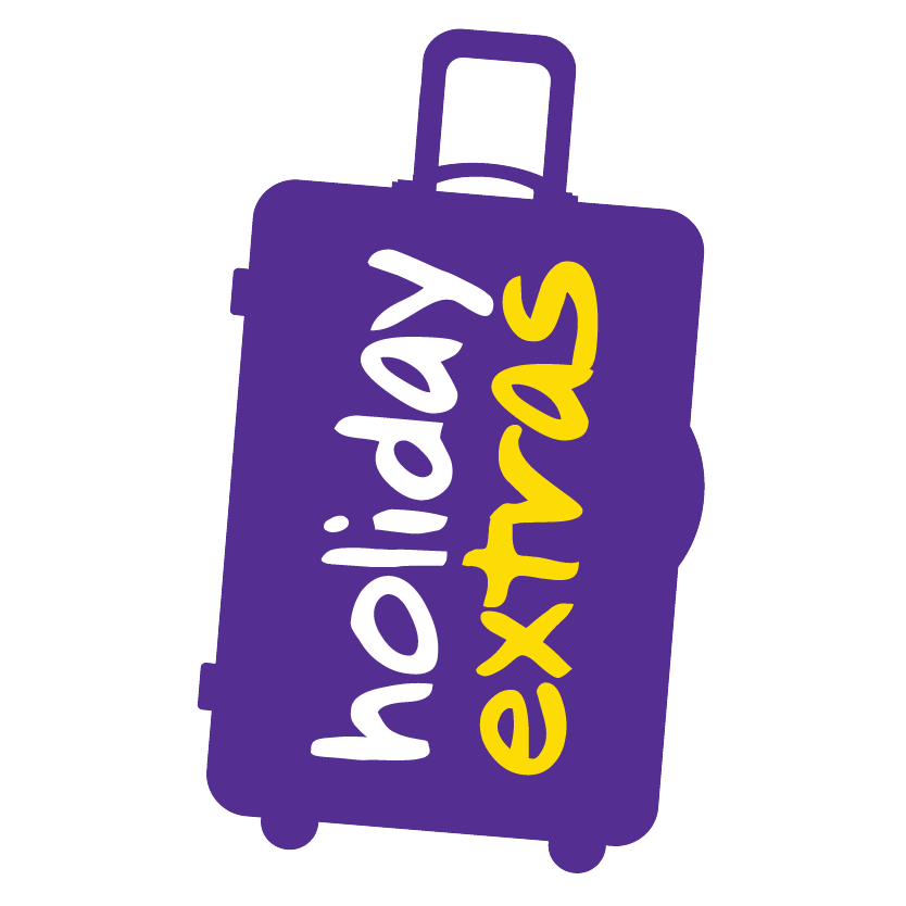 Holiday Extras Suitcase Logo