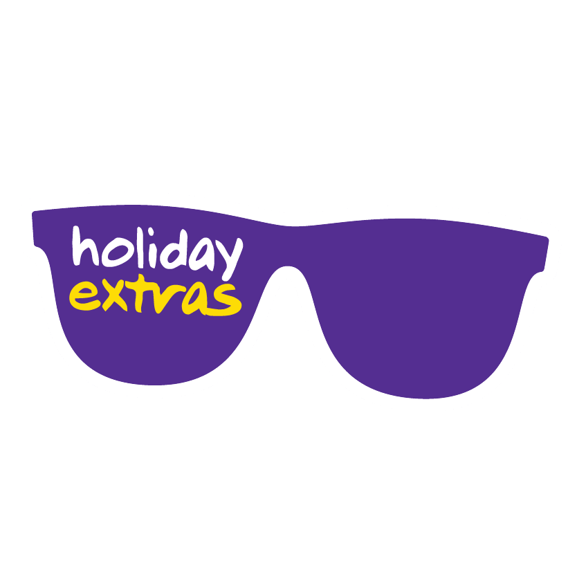 Holiday Extras Sunglasses Logo