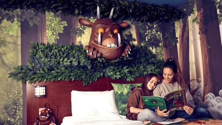 Chessington Resort Hotel - Gruffalo Themed Room