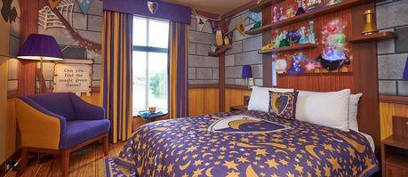 LEGOLAND Castle Hotel Wizard's Room