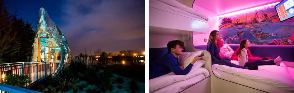Thorpe Park Resort Hotel - Shark Cabins