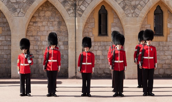 Windsor Castle - Changing the Guard
