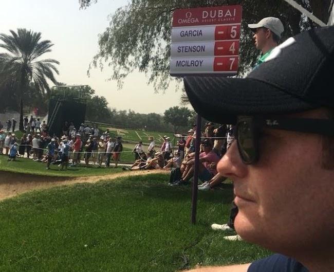 enjoying some worldclass golf