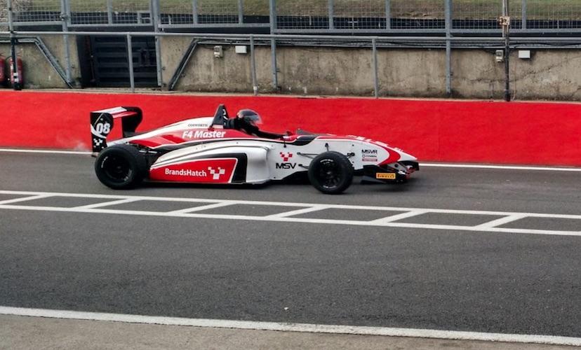Simon Brands Hatch driving