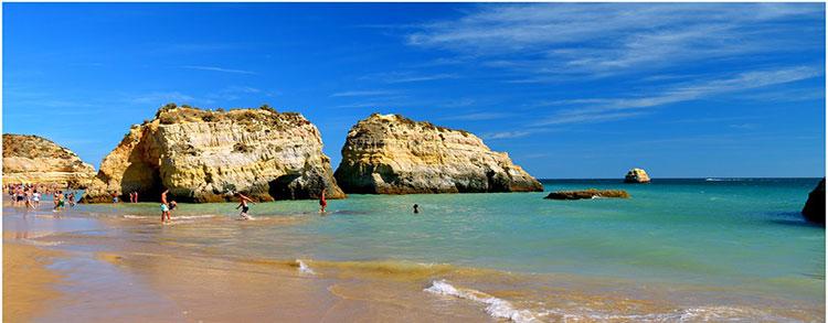 Beautiful Algarve Beach near Faro - Portugal