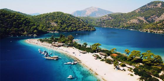 Olu Deniz, Dalaman, Turkey