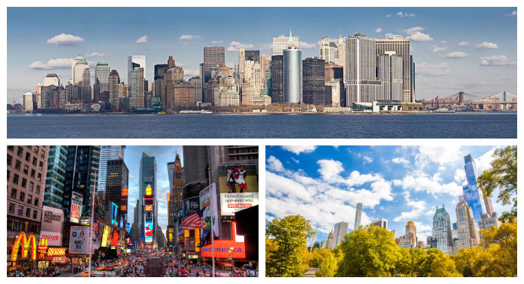Sights of New York