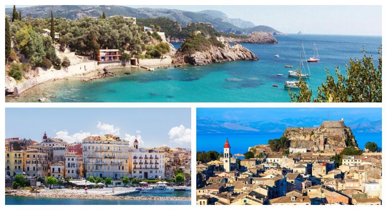 Sights of Corfu - Greece