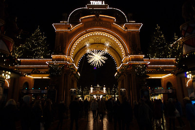 Xmas market at Tivoli, by Timmy L