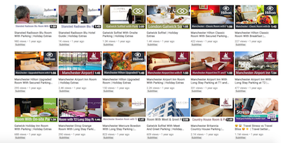 Hotel reviews on the Holiday Extras YouTube channel