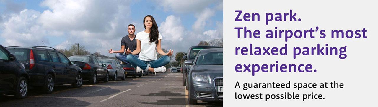 zen park airport's relaxing parking experience