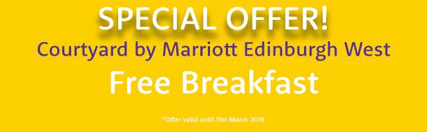 Edinburgh Courtyard Marriott West offer