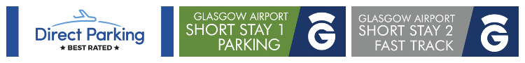 glasgow airport parking car park logo banner 2 disabled parking