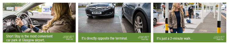 short stay car park glasgow airport disabled parking information
