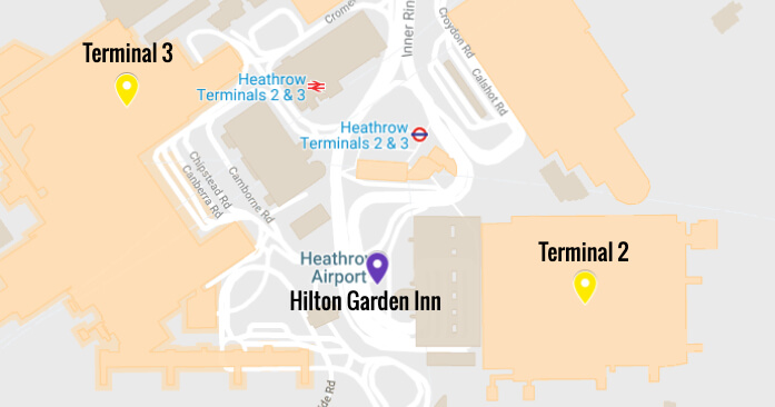 Hotels Connected To Heathrow Airport Room Terminal In Minutes