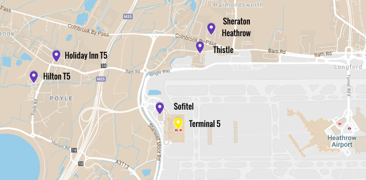 Heathrow Terminal 5 Hotels From 29 Top Closest Hotels To T5