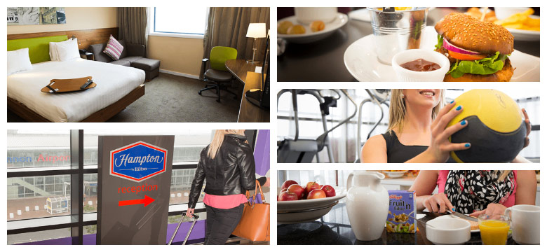 Hampton by Hilton Liverpool interior photos