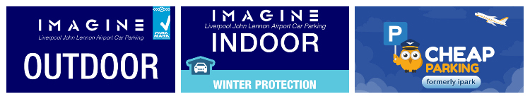 liverpool airport drop off top three cheapest car parks logo banner