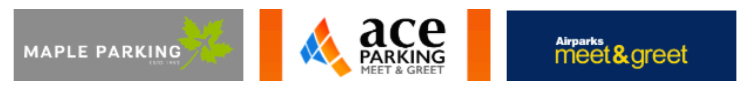 birmingham airport parking meet and greet service logo banner