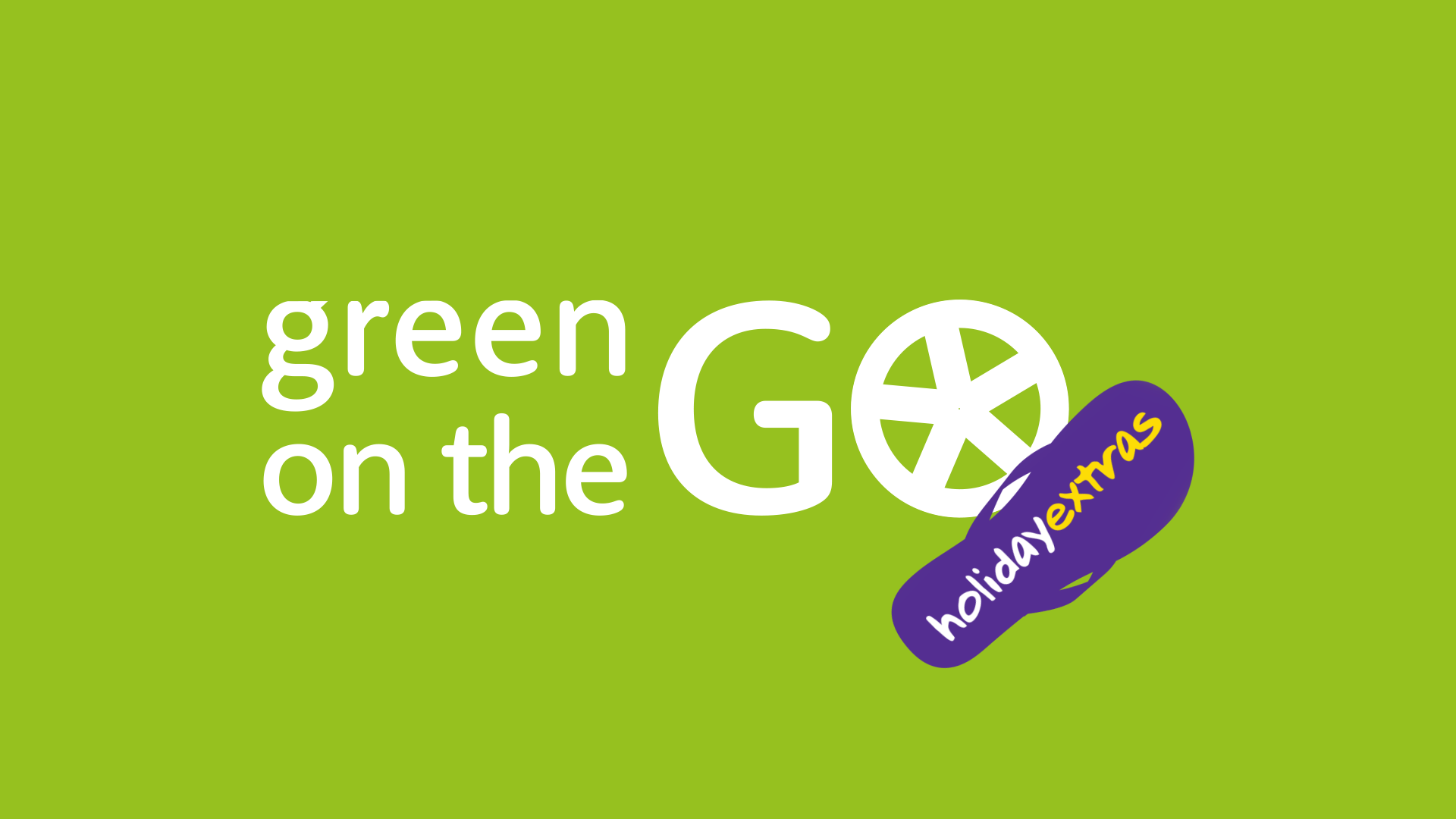 Green On The Go Banner