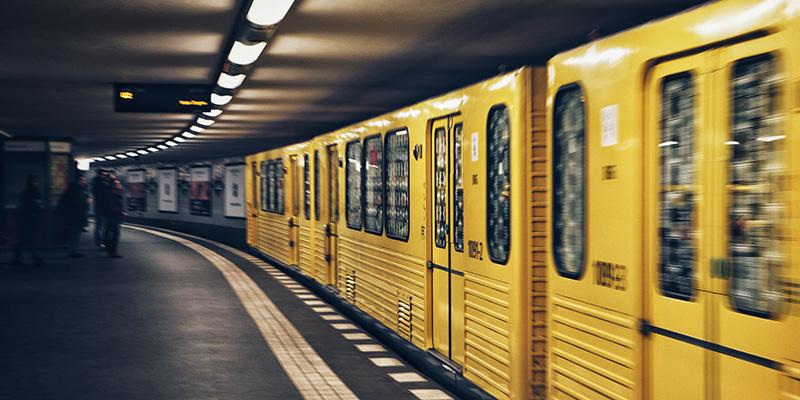 Berlin SBahn Train