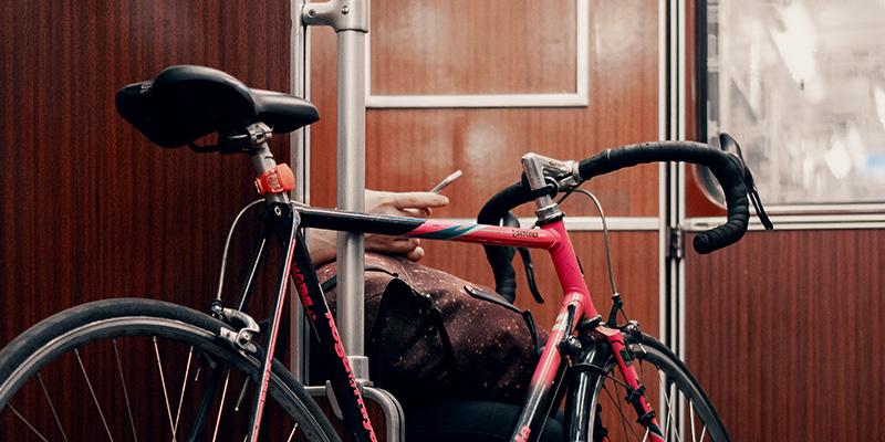 Bike on the Berlin SBahn Train