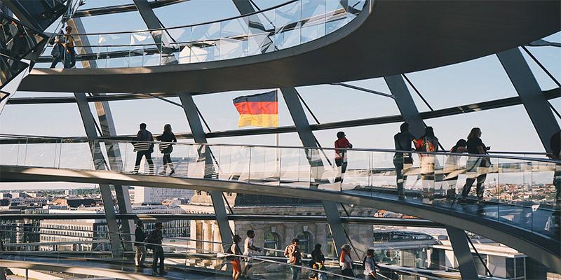 Berlin The Reichstag