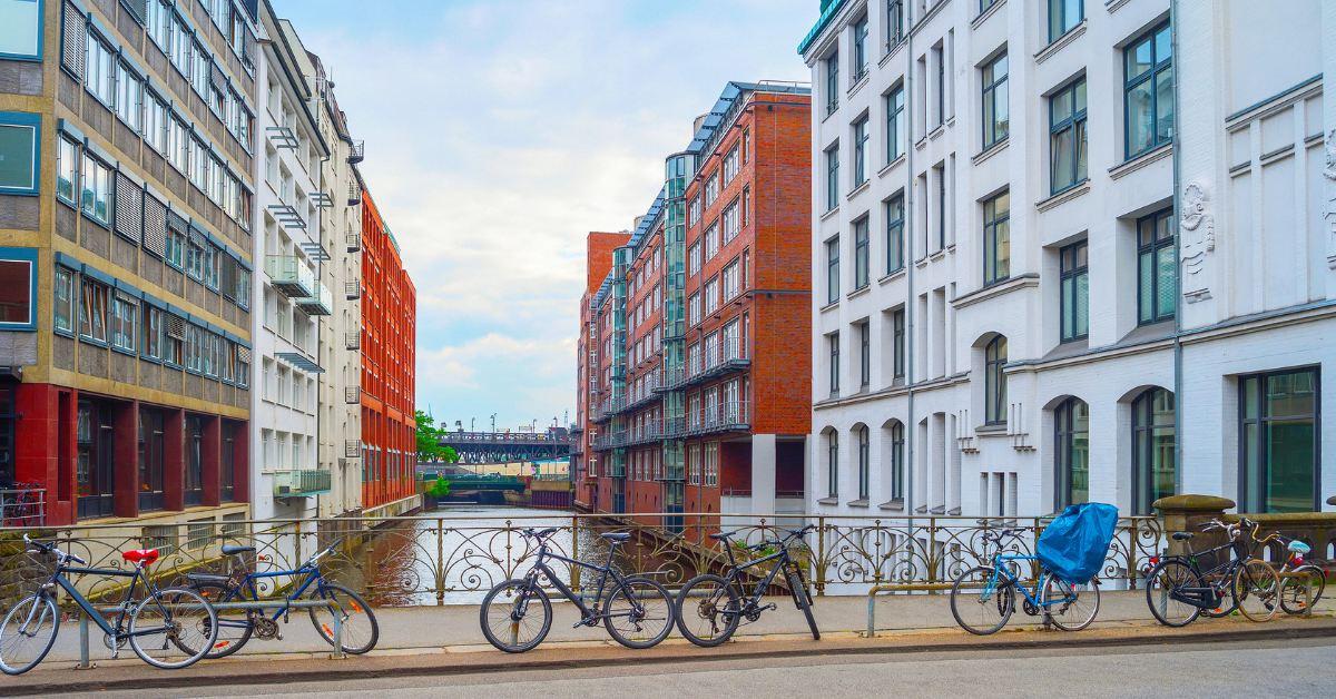 Bicycle in Hamburg