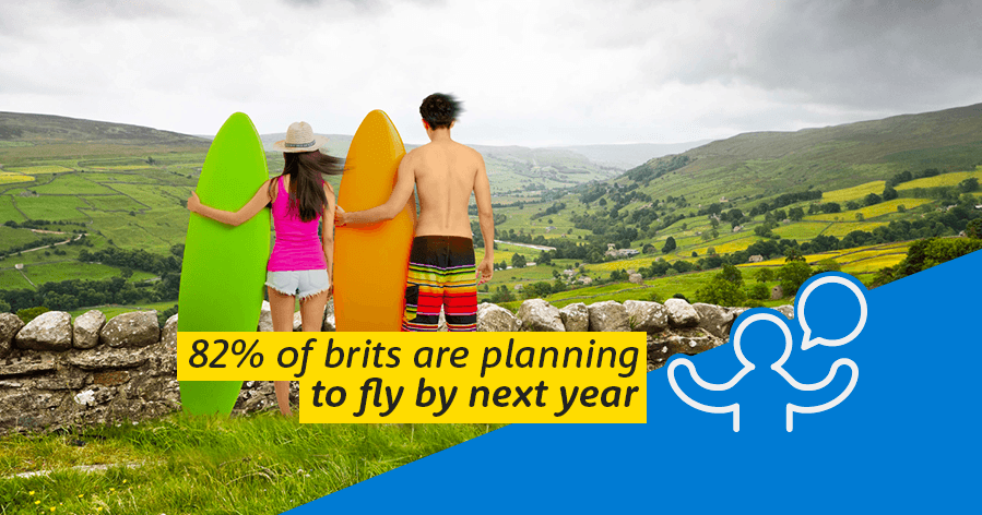 82% of Brits planning to fly overseas