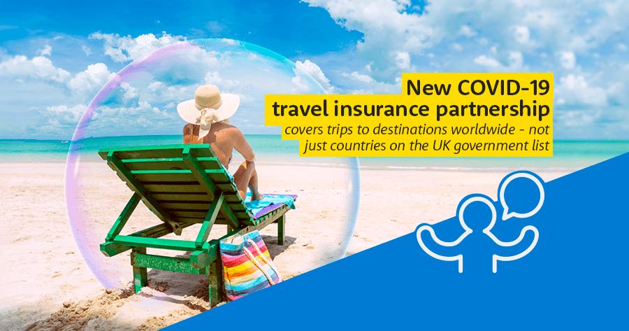 New Covid-19 insurance partnership
