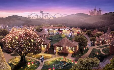 Alton Towers Resort with Hotel Stay