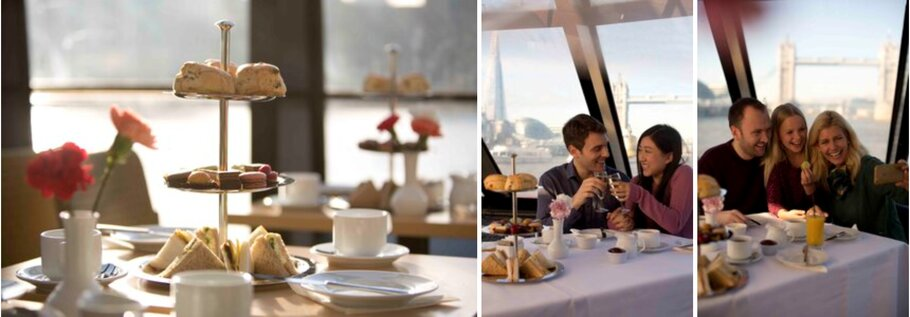 London River Thames Cruise Afternoon Tea