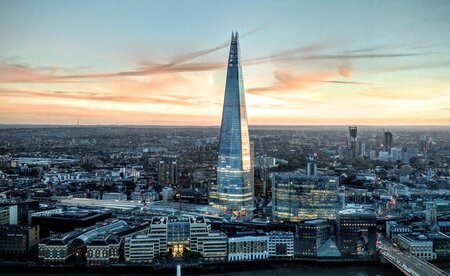 The Shard London with Hotel
