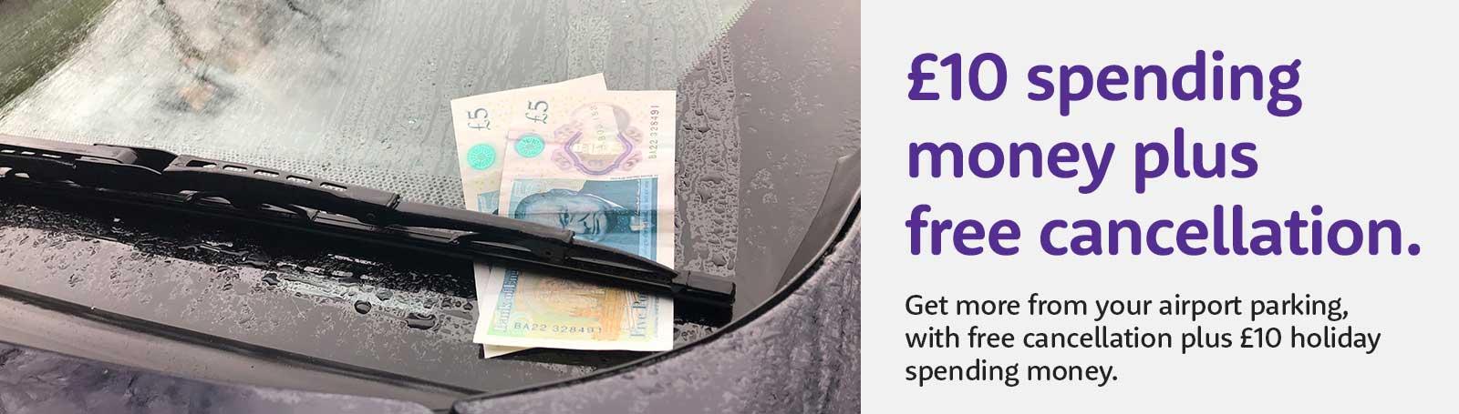 Caxton FX travel money offer banner