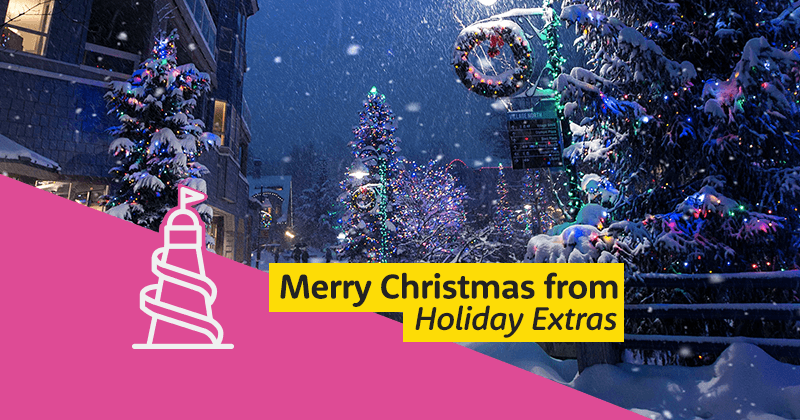 Merry Christmas From Holiday Extras