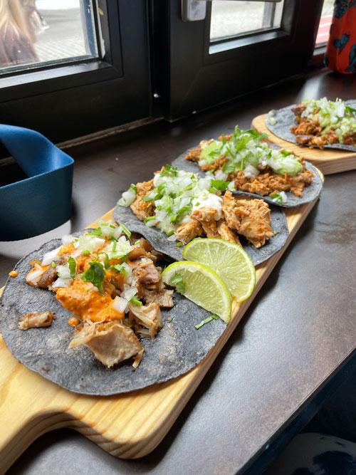 Tacos in downtown Reyjkavik