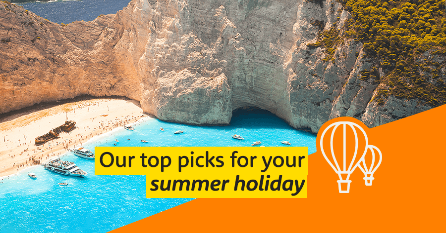 Top picks for your summer holiday