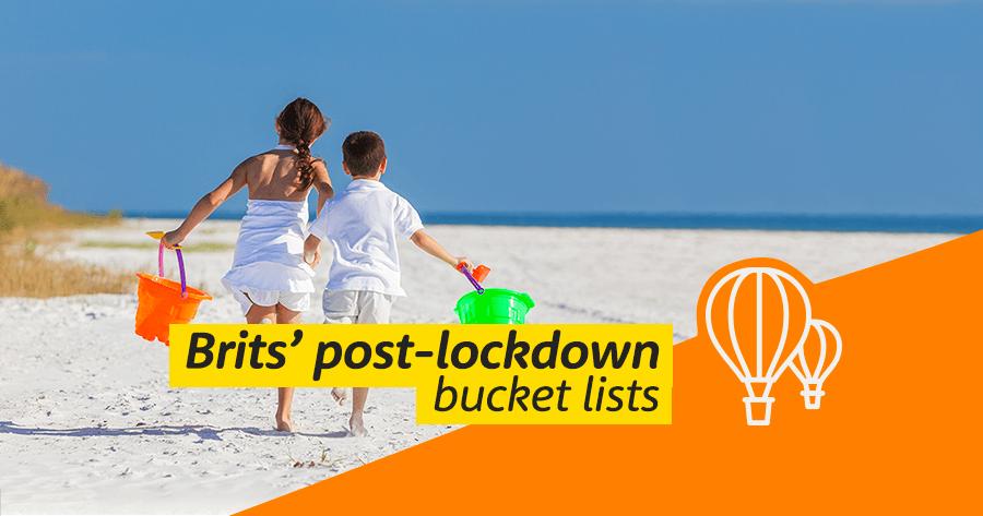 Brits post-lockdown bucket list