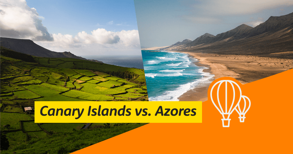 Canary Islands vs Azores
