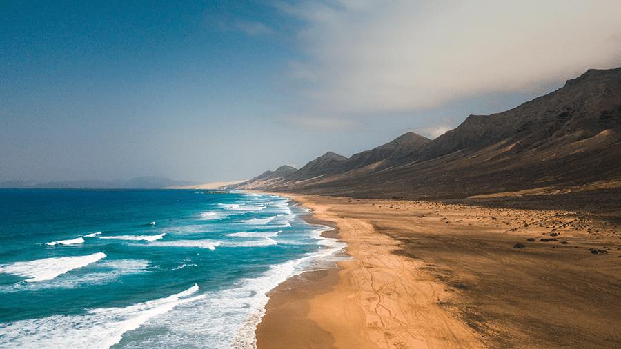 Cofete beach, Fuerteventura