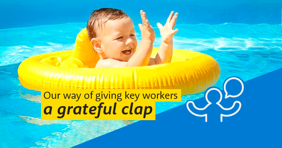 Giving Key Workers a Grateful Clap