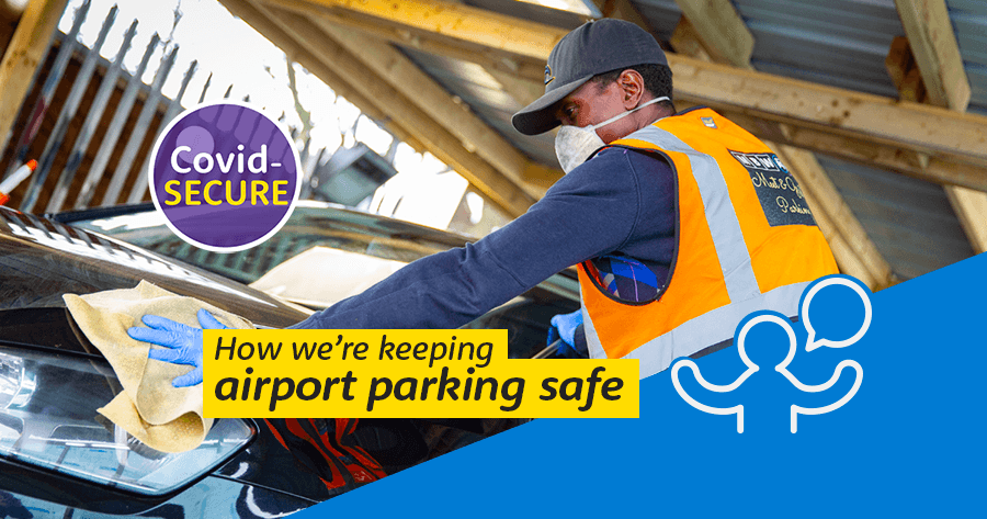 How we're keeping airport parking safe.