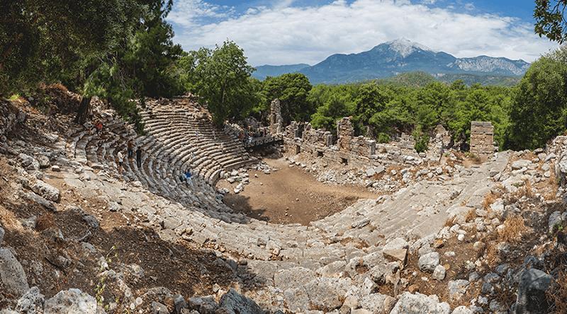 Phaselis amphitheatre